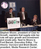 Stephen Moore, Fred Barnes and Brent Bozell