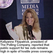 Kellyanne Fitzpatrick, president of The Polling Company