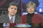 Sean Hannity & Eleanor Clift