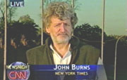New York Times reporter John Burns