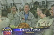 President Bush's surprise visit with troops in Iraq