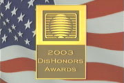 MRC's 2003 DisHonors Awards