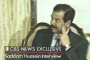 Dan Rather's 1990 interview with Saddam Hussein