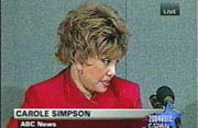 Former World News Tonight/Sunday anchor Carole Simpson