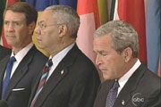 President George Bush & Colin Powell