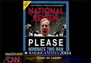 Howard Dean on cover of National Review