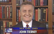 New York Times reporter John Tierney