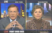 CNN's Aaron Brown & Senator Barbara Boxer