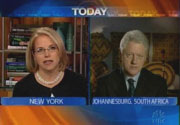NBC's Katie Couric & Bill Clinton
