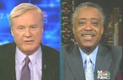 Chris Matthews & Al Sharpton